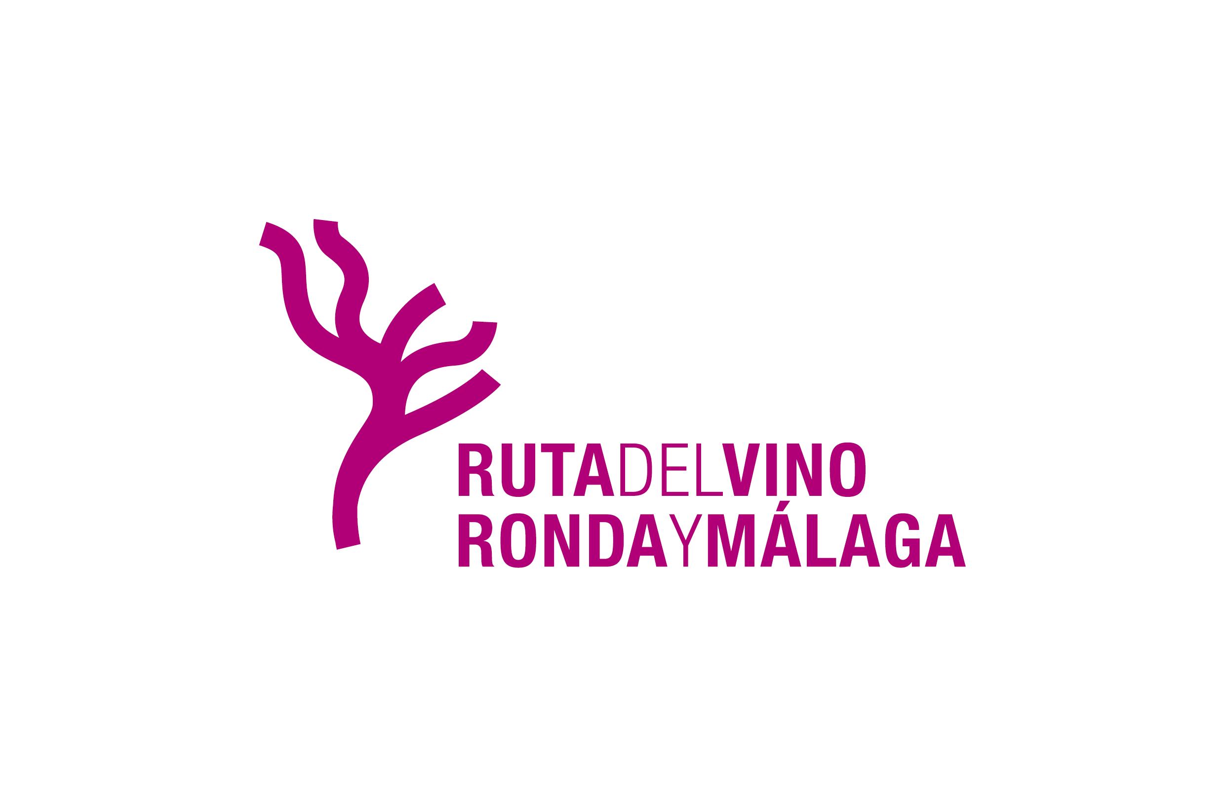 Ruta de Vino de Ronda y Málaga. Logotipo